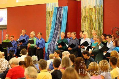 choir & waterfall