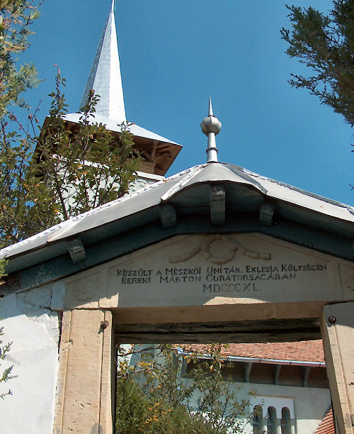 Entrance to our partner church, photo courtesy of Tom von Alten, 2011